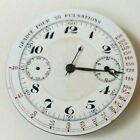 Fine Ariston Manual Wind Pocket Watch Swiss Chronograph Movement Repair/parts photo