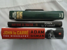THREE (3) hardbacks BY/ABOUT JOHN LE CARRE