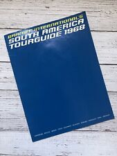 Vintage Braniff International's South America Tourguide 1968 1960's Airlines