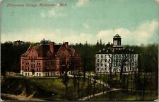 Postcard MI Kalamazoo College View from the Hill C.1910 B1