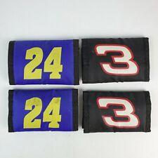 Lot of 4 Racing #24 Blue & #3 Black Vintage Nylon Wallet Trifold NOS 2 ea design