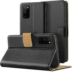 Case Mobile Phone Flip Case Book Slim Matte Black