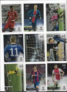 2020/21 Topps Stadium Club Chrome Soccer Base RC Pick Player Complete Your Set