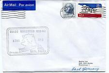 1981 USCGC Woodrush WLB-407 ATON SAR Sitka Alaska Polar Antarctic Cover