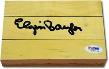 Elgin Baylor Hand Signed Autograph Original Forum Floor Floorboard PSA/DNA 362