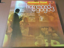 JAMES LAST: HAMMOND A GOGO 3: VINYL LP MADE IN GERMANY: POLYDOR: 249 304