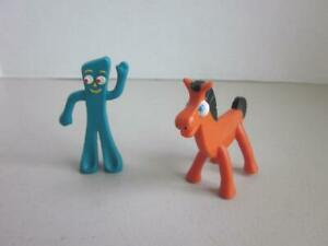Mini Gumby and Pokey 3 inch figures