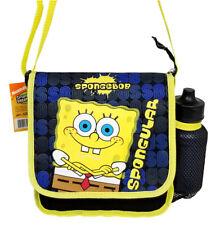 Sponge bob Square pants DJ Lunch Bag Lunch Box for  Kids New w Free Water Bottle
