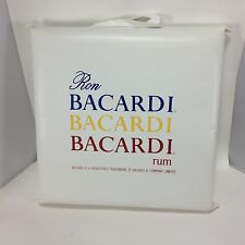 Ron Bacardi Rum Vintage Seat Cushion Boat Bench Seat Advertising Blue Yellow Red