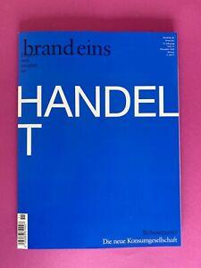 brand eins Heft 11 / November  2020 .. Schwerpunkt: Konsumgesellschaft .. ungl.