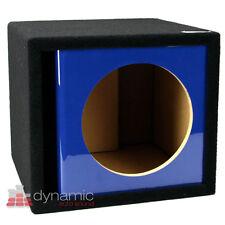 "ATREND ZV12S Custom 12"" Single Vented Ported Kandy Blue Paint Sub Enclosure Box"