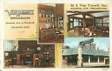 Van Tassell Restaurant, Kentucky Avenue & Boardwalk, Atlantic City NJ