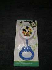 New listing Disney Mickey Mouse Baby Rattle Bpa-Free Plastic Blue Children's Toy