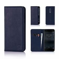 32nd Classic Series - Real Leather Book Wallet Case Cover For Nokia 5 (2017)