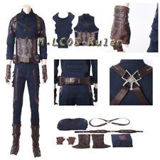 2018 New Captain America Avengers Infinity War Cosplay Costume Halloween Suit