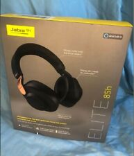 Jabra Elite 85h Ear-Cup (Over the Ear) Wireless Headphones - Copper Black