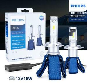Philips Ultinon LED Set For BMW 323CI 2000 LOW BEAM