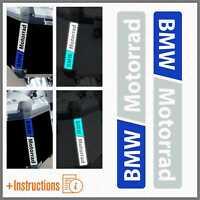 2x Rifrangenti Bianco Blu BMW Motorrad F 650 700 800 R 1150 1200 1250 GS A