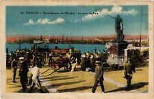 CPA TOULON Ravitaillement de l'Escadre-Le Carré du Port (338162)