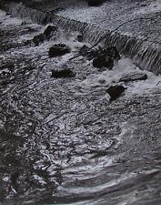 Fluss - sw Foto aus der 70er Jahre 28 x 22 cm signiert Fotokunst Photo
