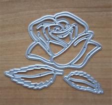 3stk Stanzschablone Rose Blätter Set Hochzeit Valentinstag Album Karte Foto Deko