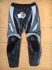 "TARGA Mens Race Leather Motorbike / Motorcycle Trousers UK 40"" - 41"" Waist (LB10"