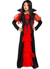 New Girls Vampire Vampiretta Child Halloween Costume Size Medium 8-10