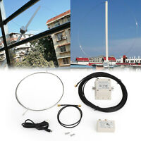 Hoher Gewinn Low Noise 100kHz - 30MHz Loop Active Short Wave Receive Antenne DE