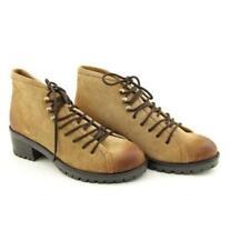 Botas de mujer de tacón medio (2,5-7,5 cm) Color principal Beige Talla 38