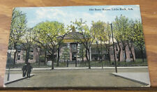 1915 COLOR Postcard//OLD STATE HOUSE, LITTLE ROCK, AR//ARKANSAS