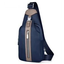 Casual Chest Bag Pack Male Waterproof Canvas Crossbody Fashion Travel Messenger