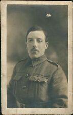 WW1 Soldier Smile Italian card,    RJ.41