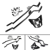 Motorcycle Sissy Bar Luggage Rack Carrier Plate For Yamaha MT-07 FZ-07 14-17 A01