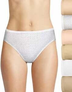 Hanes Ultimate Breathable Cotton Hi-Cut 6-Pack