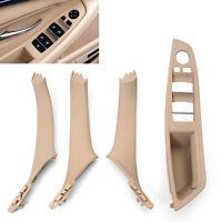 Door Panel Handle Armrest Kit Inner Window Switch For BMW 5 Series 520 523 525