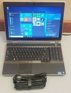 Dell Latitude E6520 Core i7-2760QM 8GB RAM 750GB HDD WEBCAM BLUETOOTH NVIDIA