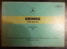 Mercedes Unimog Motoren OM 615 Ersatzteilkatalog