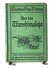 Sven Hedin: Über den Transhimalaja, Schaffsteins Grüne Bändchen 8