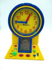 Learning Resources Talking Clever Clock- Educational  Working in Great Condition