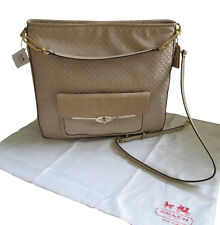 Coach Mdison Fabric Hobo - Light Khaki / Gold tone
