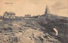 Kullens Fyr Sweden Lighthouse Scenic View Antique Postcard J69742