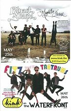 EDWARD SHARPE & MAGNETIC ZEROS / FITZ AND THE TANTRUMS POSTER 2013 Gig Portland