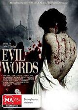 Evil Words (DVD, 2012) - Region 4