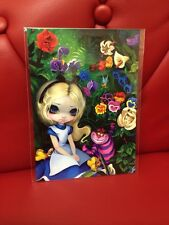 "Disney's Wonderground Gallery ""Alice In The Garden"" : Jasmine Becket-Griffith"