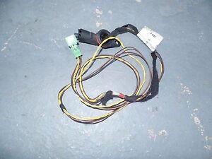 MERCEDES Benz wiring harness c230 230 kompressor coupe 2035401807 2002 catalyst