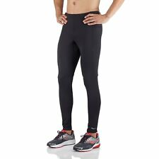 Saucony Men's Omni Tight Running Pants, SA81251-BK, Black ( Size Medium )