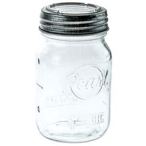 Pearl Mason Sunny Cap Aufbewahrungsgläser | 6er-Pack | 500ml | + Glasdeckel