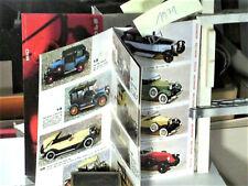 CATALOGUE 1971 AUTOS RIO 1900/50 FIAT ALFA ROMEO MERCEDES BUGATTI RENAULT