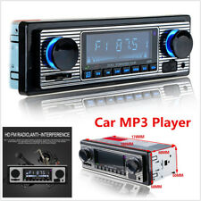 Car In-dash MP3 Stereo Radio Player Bluetooth 4-CH Output FM USB/AUX +Remote