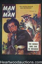 Man to Man Sep 1953 Vampires article - High Grade- NAPA